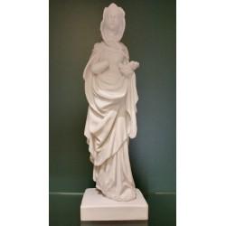"""Figur """"Heilige Elisabeth"""" (Alabaster)"""